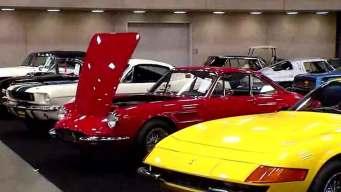 Mecum Auto Auction Sets Up in Dallas