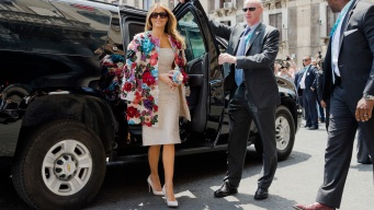 Melania Trump's Style Evokes Europe Roots, Not America First