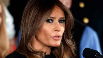 First Lady Melania Trump in Texas to Visit Harvey Responders