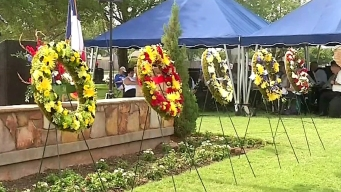 Memorial Day Ceremony Held in Fort Worth