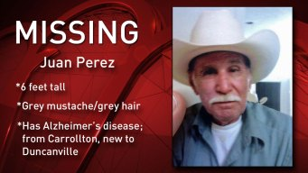Duncanville Police Searching for Missing Man, 84