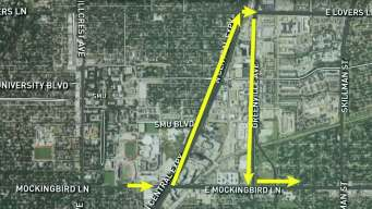 Mockingbird Lane to Close Through Friday Morning