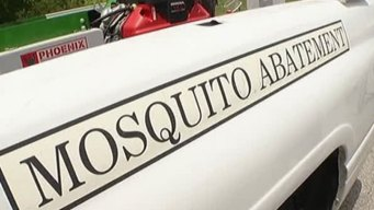 Plano Spraying for Mosquitoes