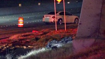 Motorcyclist Hurt After Crashing During High-Speed Chase