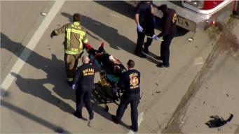 Six Injured in Major Crash Along Mountain Creek Parkway