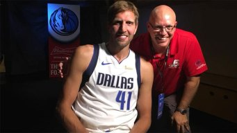 'There He Is!' -- A 'Dirk' Nowitzki Story