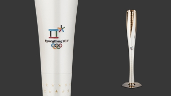 Olympic Torch Revealed for 2018 Winter Games
