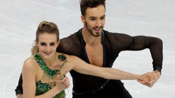 French Ice Dancer Suffers Wardrobe Malfunction on Live TV