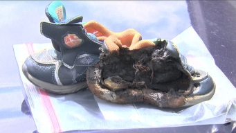 Officials Investigating If Light-Up Shoe Caused Fire