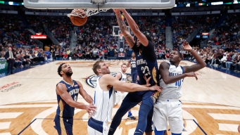 Davis, Pelicans Hold Off Doncic-Led Mavs 114-112
