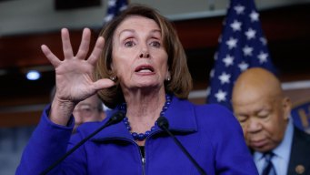 House Minority Leader Pelosi Criticizes Trump in Texas Trip