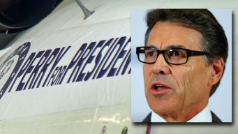 Rick Perry Shrugs Off Fundraising Woes in Return to TX