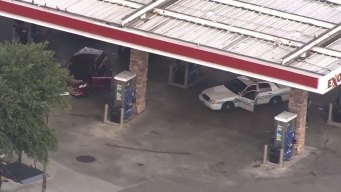Watch: 2 Surrender After Police Chase in Houston