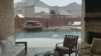 Hail Storms Caught on Video