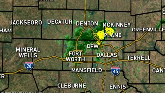 Weekend Storms Move Through North Texas