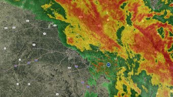 Severe Storms Bring Hail as Heavy Rain Soaks DFW Saturday