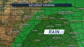 Rain Returns to North Texas Tonight