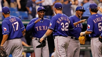 Rangers Take Series Lead Over Rays