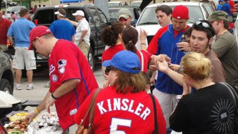 '72 Rangers Celebrated on 40th Opening Day