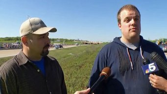 First Men on the Scene Describe Irving Bus Crash