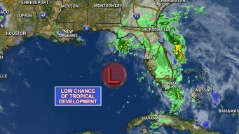 Tropical Development Already Bringing Rain to Florida
