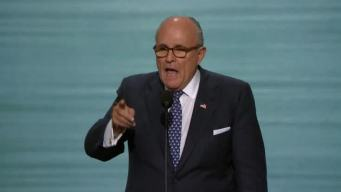 Giuliani Revs Up Republican National Convention