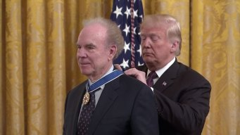 Roger Staubach Receives Presidential Medal of Freedom