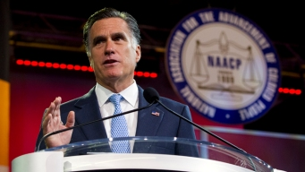 Romney Draws Boos from NAACP in Houston