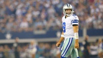 Cowboys Lead Giants at Half, 13-10