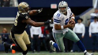 Saints Lead Cowboys 17-14 At Half