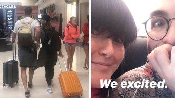 #PlaneBae: Flight Seat-Swap Romance Goes Viral