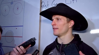 Roussel On Hat Trick: 'It Was Awesome'