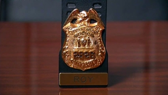 Mansfield Officers Bring Back 9/11 Badge