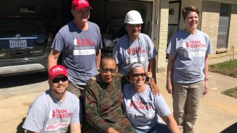 Volunteers Help Tarrant County Flood Victims