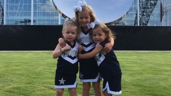 Silver and Blue - Miller Kids and Cheerleaders