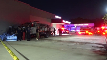 Driver Damages Vehicles, Dallas Emergency Room in Crash