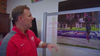 Behind The Scenes With SMU Head Coach Chad Morris