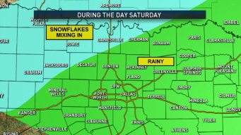 Widespread Rain Coming to DFW Saturday