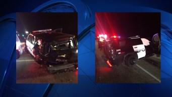 DWI Suspect Crashes Into Southlake Police
