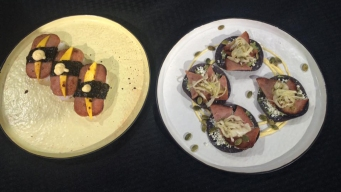 Chef Creates Spam Dishes