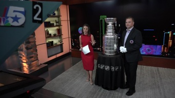 Stanley Cup Stops By NBC 5 Today