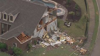 95 MPH Straight-Line Winds Hit Rockwall Damaging Homes