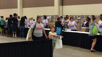 Back to School Roundup Gives Kids Reason to Smile
