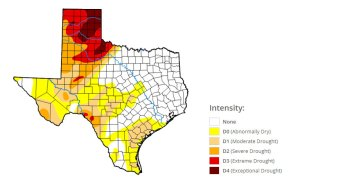 Exceptional Drought Continues in Panhandle