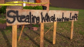 Homeowner to Looters: 'Stop Stealing What We Have Left'