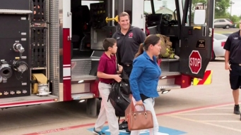 Something Good: Fire Truck to School