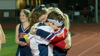 Bond Between Mom and Son Captured After Big Win