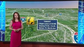 DFW Traffic Forecast Sept. 25