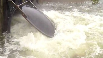 Trinity River Rises to Moderate Flood Stage