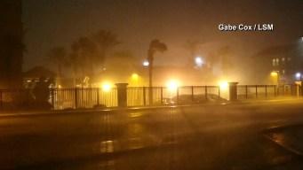 Tropical Storm Julia Soaks Southeast U.S. Coast